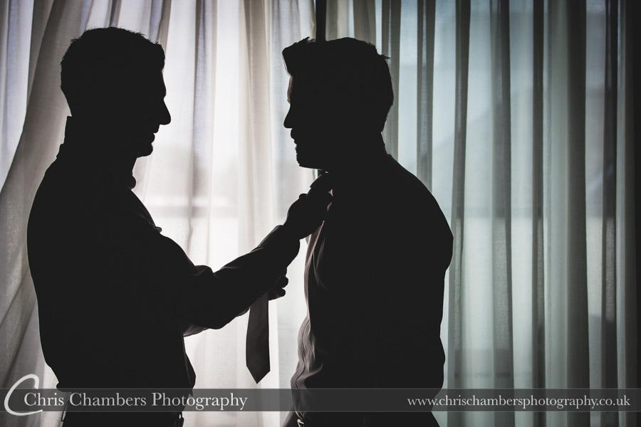 Harrogate wedding photography | Wedding photographer | Groom preparation photography | Award winning wedding photography | Groom and groomsmen wedding photographs