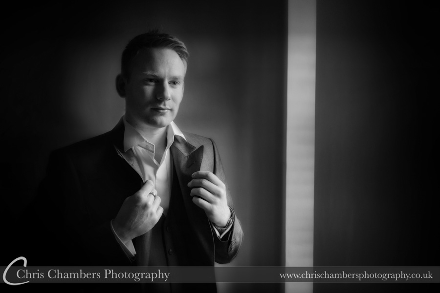 Groom photography | Wedding photographer | Groom preparation photography | Award winning wedding photography | Groom and groomsmen wedding photographs