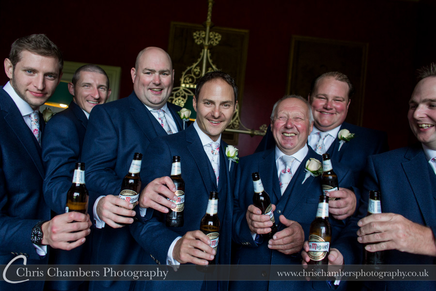 Groom preparation wedding photography | West Yorkshire wedding photographer | North Yorkshire wedding photography | Chris Chambers Photography
