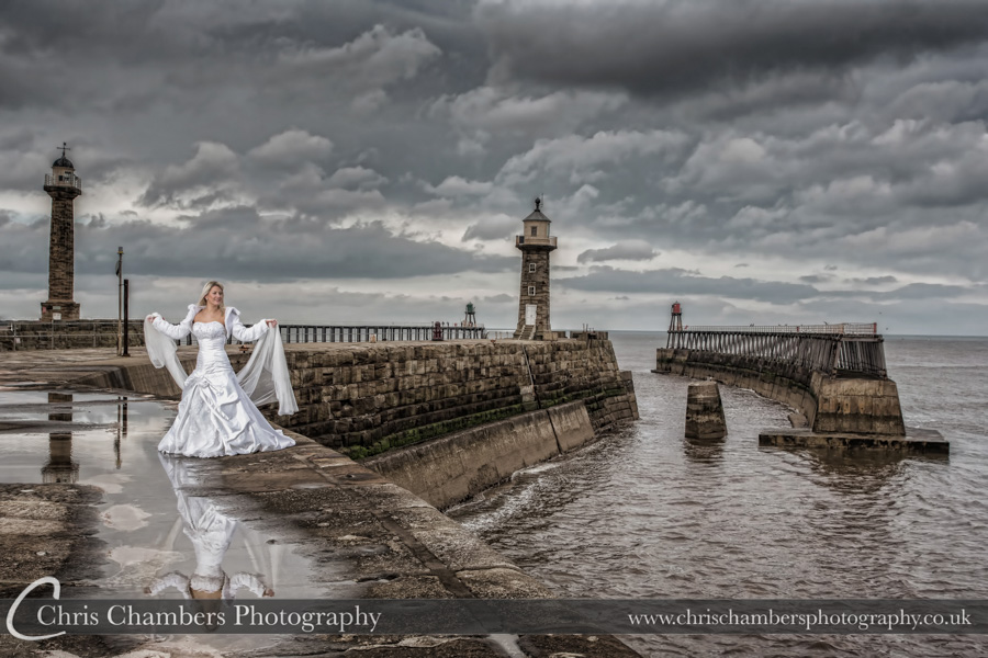 Whitby wedding photography | Award winning wedding photography | Seaside wedding photographer | Whitby wedding photographer