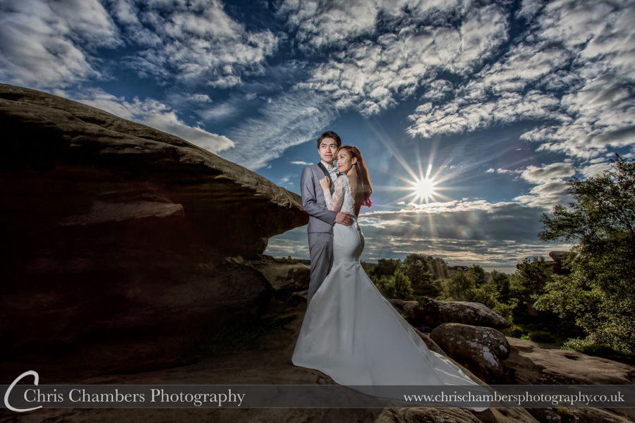 Brimham Rocks wedding photography | Chris Chambers photography | Wedding photography | Award winning wedding photographer | North Yorkshire wedding photography