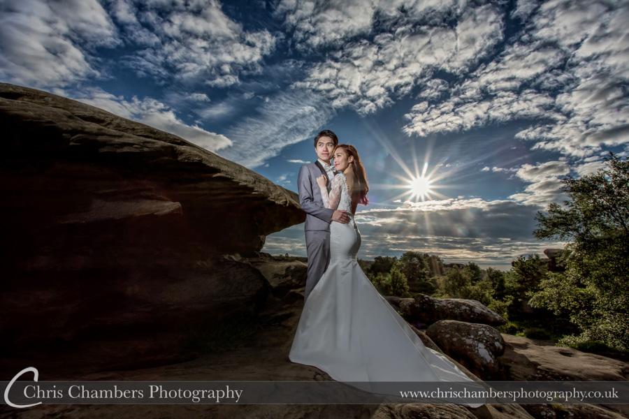 Brimham Rocks wedding photography | Chris Chambers photography | Wedding photography | Award winning wedding photographer | North Yorkshire wedding photography