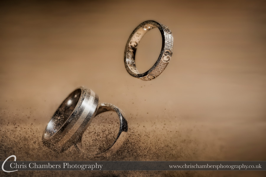 Wedding ring photography | Wedding photographer | Award winning wedding photography by Chris Chambers Photography