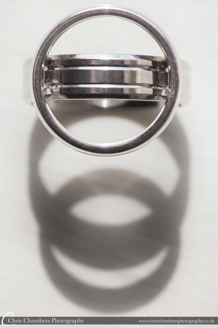 Wedding ring photography | Wedding photographer | Award winning wedding photography by Chris Chambers Photography