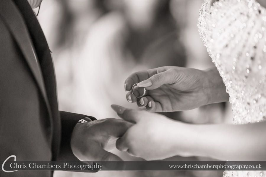 Wedding ring photography | Award winning wedding photography | North Yorkshire wedding photographer