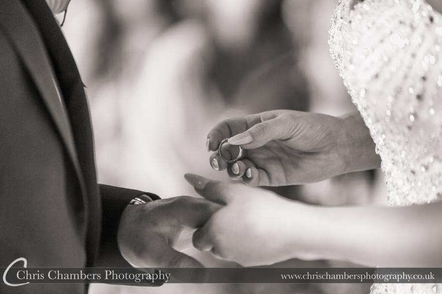Wedding ring photography | Award winning wedding photography | North Yorkshire wedding photographer