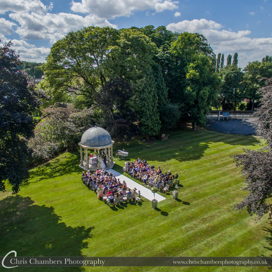 Wentbridge House Hotel wedding photography | West Yorkshire wedding photography | Outdoor wedding photography | Chris Chambers Photography