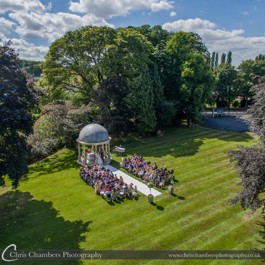 Wentbridge House Hotel wedding photography | West Yorkshire wedding photography | Outdoor wedding photography | Chris Chambers Photography