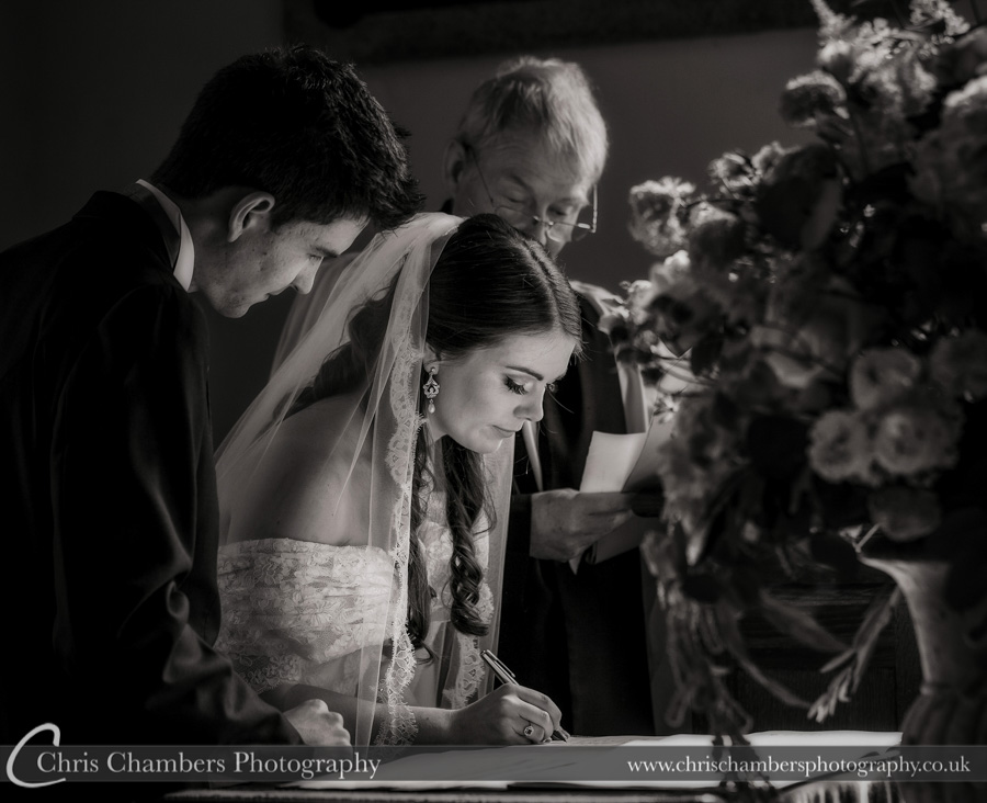 Denton Hall Wedding photography | Denton Hall wedding photographer | Church wedding photography | North Yorkshire wedding photographer