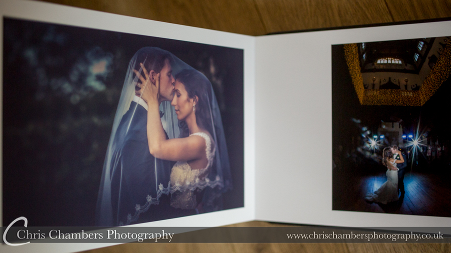 Allerton castle wedding photography. Allerton Castle Storybook Wedding Album. Chris Chambers Yorkshire wedding photographer
