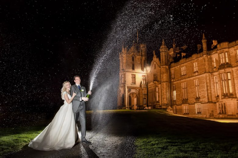 Yorkshire wedding photographer at Allerton Castle, Allerton Wedding photographer, Chris Chambers Allerton Castle Wedding photography